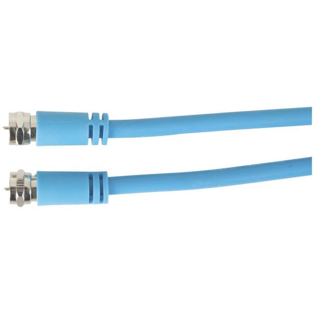 Flexible F Plug to F Plug Coax RG6 Lead - 20m WV7456
