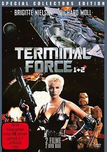 FSK18-Terminal-Force-1-und-2-I-2-Dvd-Box-neu-amp-ovp-Galaxis-The-Survivor-neu