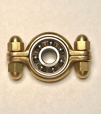 Brass Munsen Ring Hand Spinner Torq Bar Fidget Toy ADHD Anxiety EDC