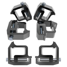 6pcs Truck Cap Topper Camper Shell Mounting Clamps Replacement For Toyota Tundra Fits Tacoma