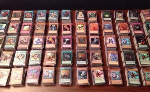YuGiOh cards near mint 100 card lot and secret rares