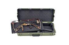 OD Green SKB Double bow / Rifle Case & Pelican TSA- 1720 Lock. With foam