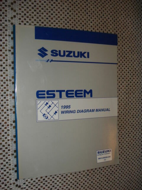 1995 Suzuki Esteem Wiring Diagram Service Manual Shop