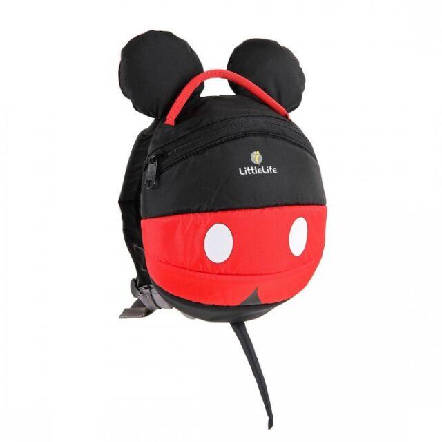 de78baf8d1 LittleLife Disney Daysack Mickey Toddler Bag Backpack With Reins for ...
