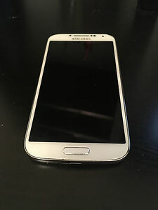 Samsung Galaxy S4 Sgh I337m 16gb White Frost Fido Smartphone