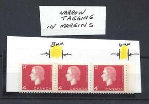 Canada NARROW TAGGING IN MARGIN SCOTT 404vi VF MIN NH (BS17211-1)