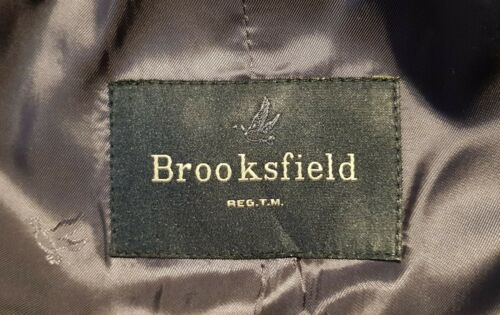 Brooksfield Coat SIZe 52 Cappotto WOOL and CASHMERE - Made in Italy  k8jxS