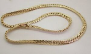 Lovely-Quality-Designer-9-Carat-Gold-Fancy-Link-Collarette-Necklace