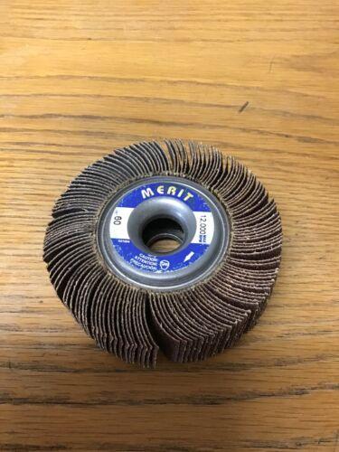 """MERIT 3-1//2"""" 60 GRIT 12,000 MAX RPM WHEEL"""