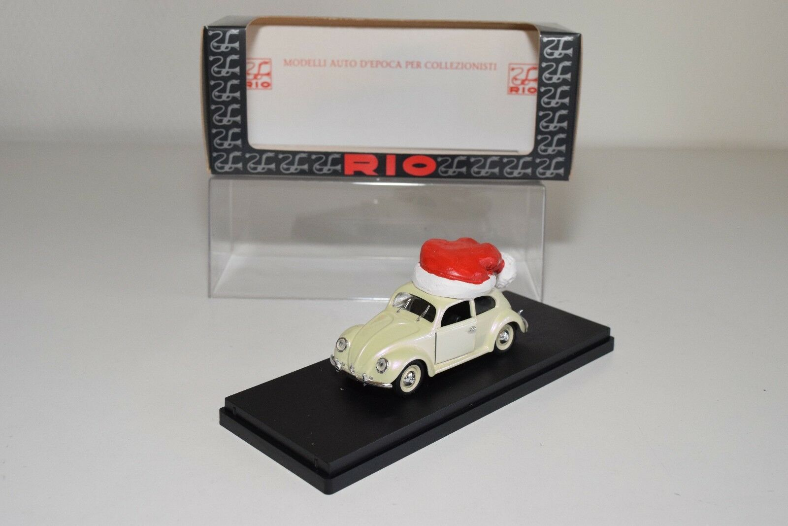 @. RIO MM RIO 01 VW VOLKSWAGEN BEELTE KAFER MERRY CHRISTMAS MINT BOXED