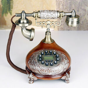 Fashion-art-Antique-telephones-Creative-retro-landline-European-Corded-telephone
