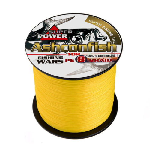 500M Super Strong 8 Strand Rope Multifilament Braided Fishing Line Braided Lines