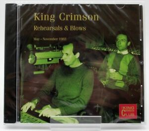 Rehearsals-amp-blows-King-Crimson-CD-NUOVO-NEW