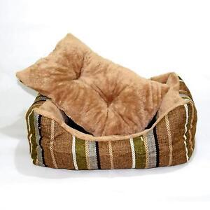 Cuccia-letto-per-Cane-o-gatto-in-Tessuto-e-Pile-Double-Face