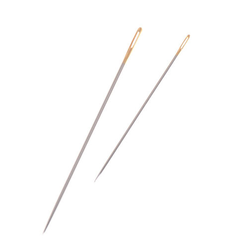 20pcs Leather Canvas Sewing Stitching Needles Leathercraft Handmade Tools LY