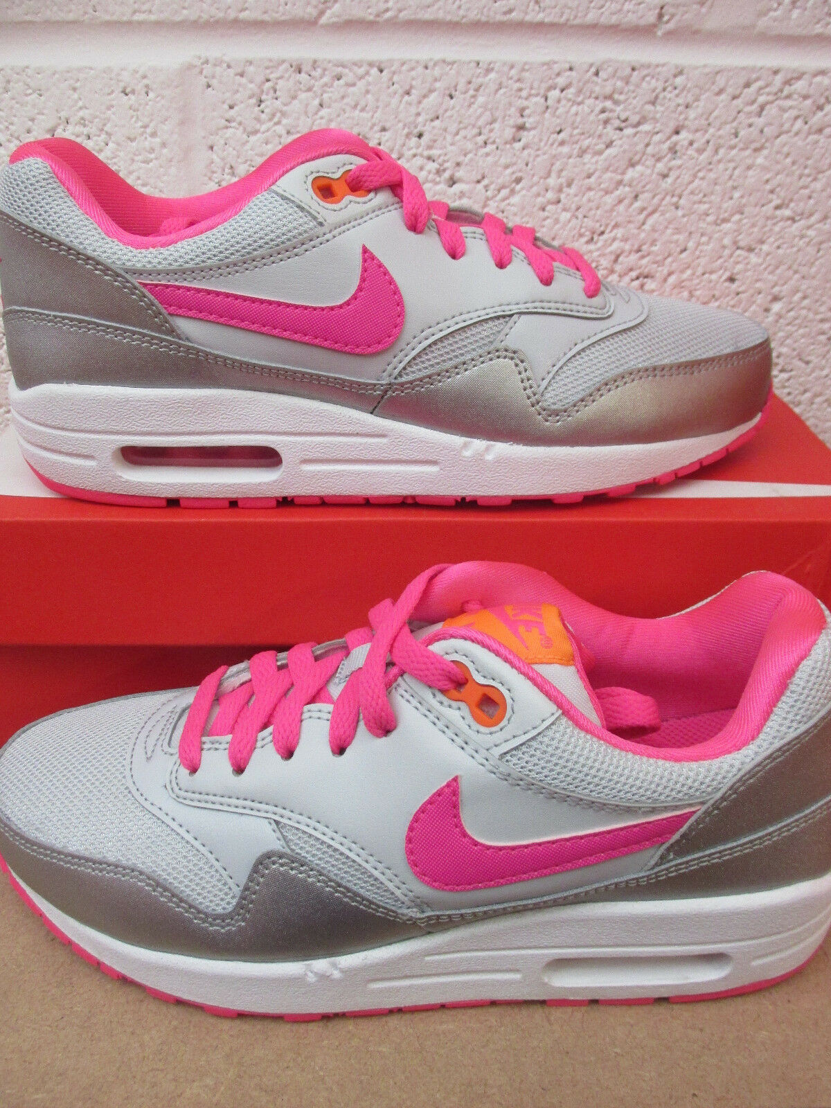 nike air max 1 (GS) fonctionnement trainers 653653 005 sneakers  chaussures
