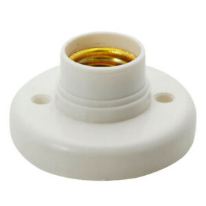 E27-Sockel-Lampenfassung-Licht-Lampe-Halterbasis-Gluehbirnen-AC250V-6A-FF