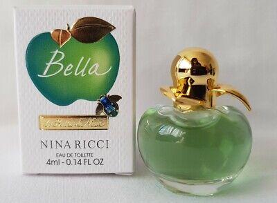 """Praktisch NouveautÉ Miniature Nina Ricci """"bella"""" édition Limitée Harmonieuze Kleuren"""