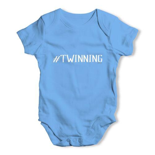 Twisted envy jumelage bébé unisexe drôle bébé grandir body