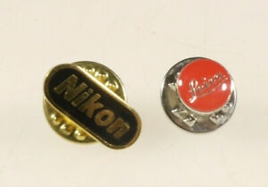 Prl) Nikon Leica Pins Badge Spille Distintivo Giacca Original Collection Lot