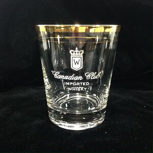 Canadian Club Whiskey Glasses