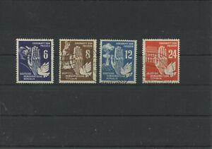 Germany-GDR-vintage-yearset-1950-Mi-276-279-Postmarked-Used-More-Sh-Shop-5