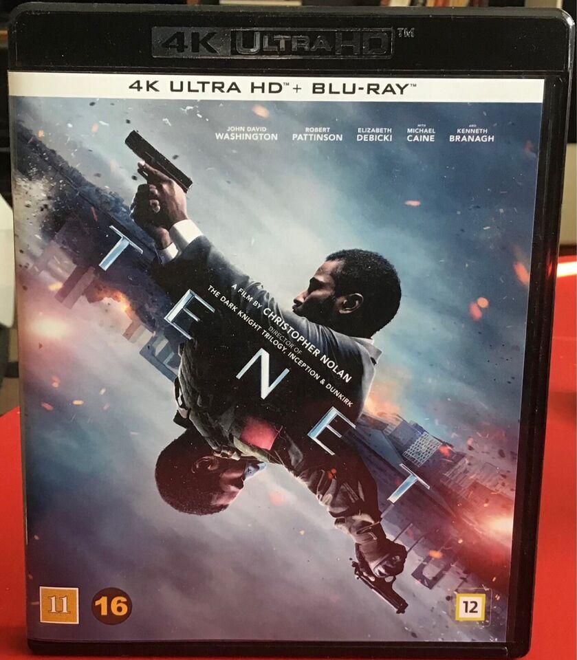 TENET, instruktør Christoffer Nolan, Ultra HD Blu-ray