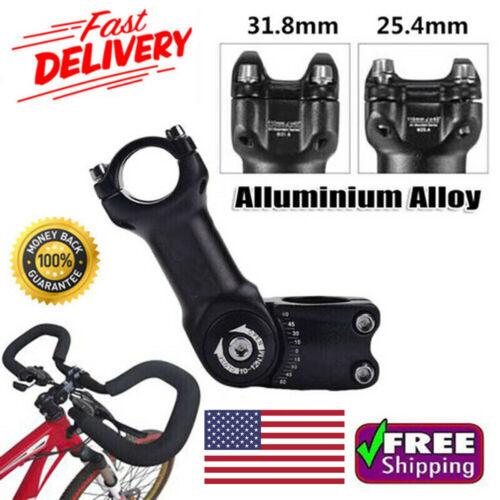 25.4mm 31.8mm Mountain Bike Stem Riser Adjustable MTB Bicycle Handlebar Extender
