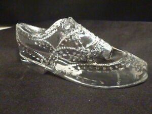 Ralph Lauren Verre Cristal De Bout D Aile Chaussure Paperweight