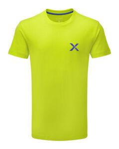 XINX-Spotlight-Short-Sleeve-T-Shirt-Top-Mens-Sports-Gym-Wear-Lime-XM0021-K