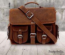 Fatto a mano Hunter Pelle Borsa A Tracolla Valigetta Laptop Messenger Bag Prezzo Consigliato £ 129.99