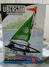 Uberstix Sailboat Construction Building Toy -212 pieces- great item