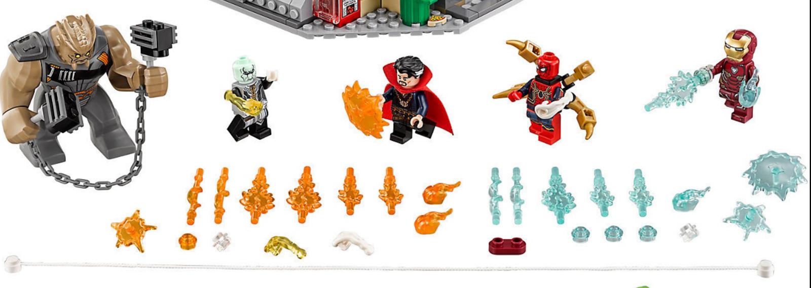 LEGO Marvel Minifigure Avengers Super Heroes 76108 spider-Man Iron Man Doctor