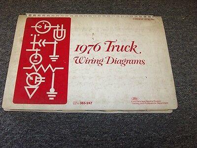 1976 Ford Bronco Courier Econoline Original Electrical ...