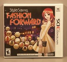 Style Savvy: Fashion Forward (Nintendo 3DS, 2016)