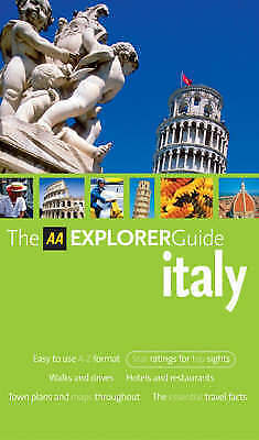 """AS NEW"" Jepson, Tim, AA Explorer Italy (AA Explorer Guides) Book"