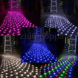110V 220V 100/300 LED Net String Fairy Light Party Wedding Xmas Decoration Lamp