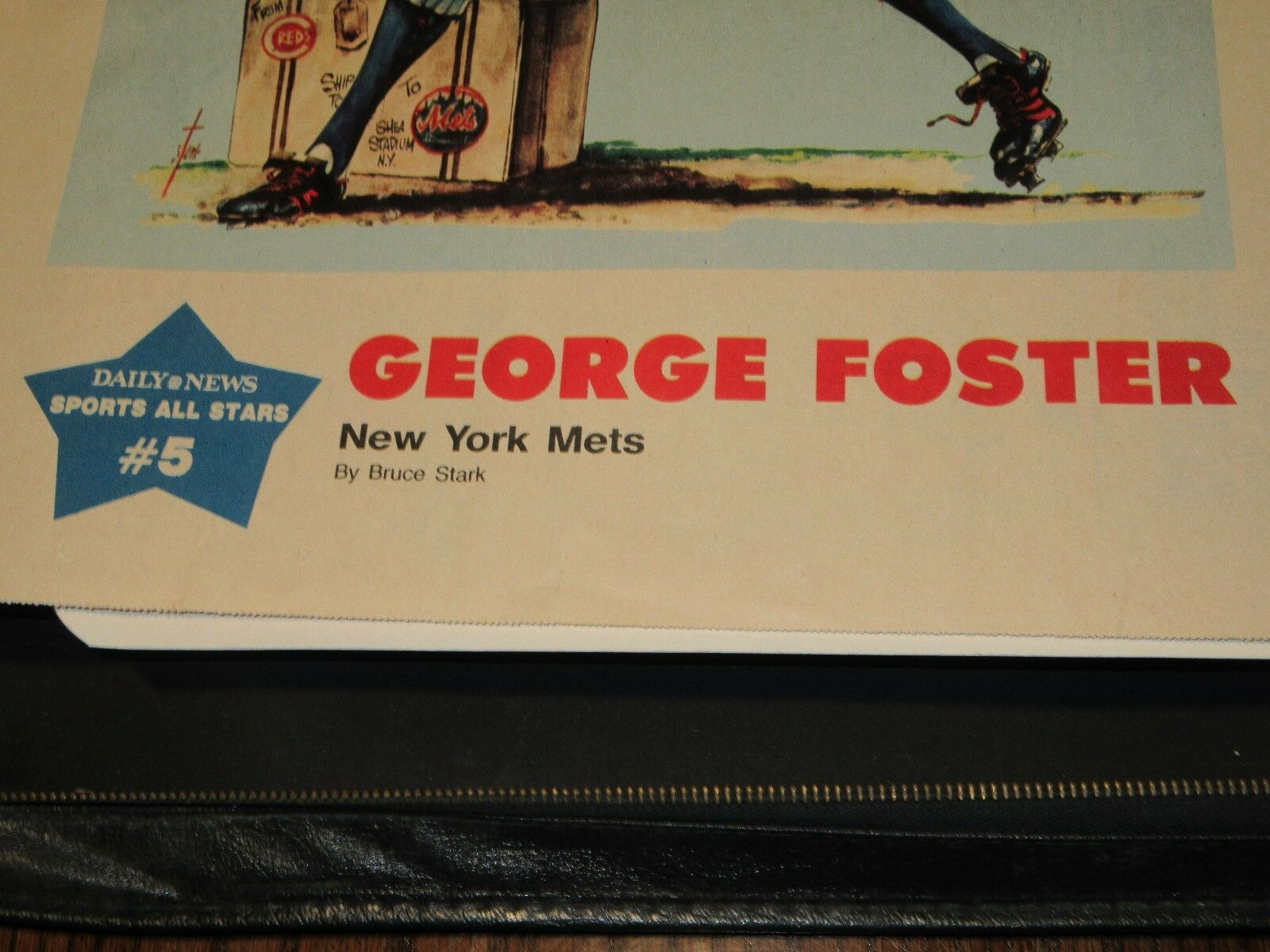 George Foster , New York Sunday News Sports All-Stars #