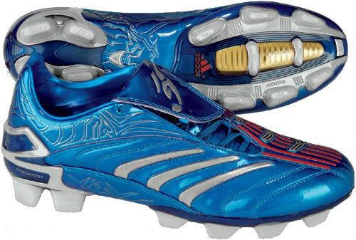 Adidas David Beckham + Deprojoador Absolute TRX Fg Fútbol Zapatos Azul Metálico