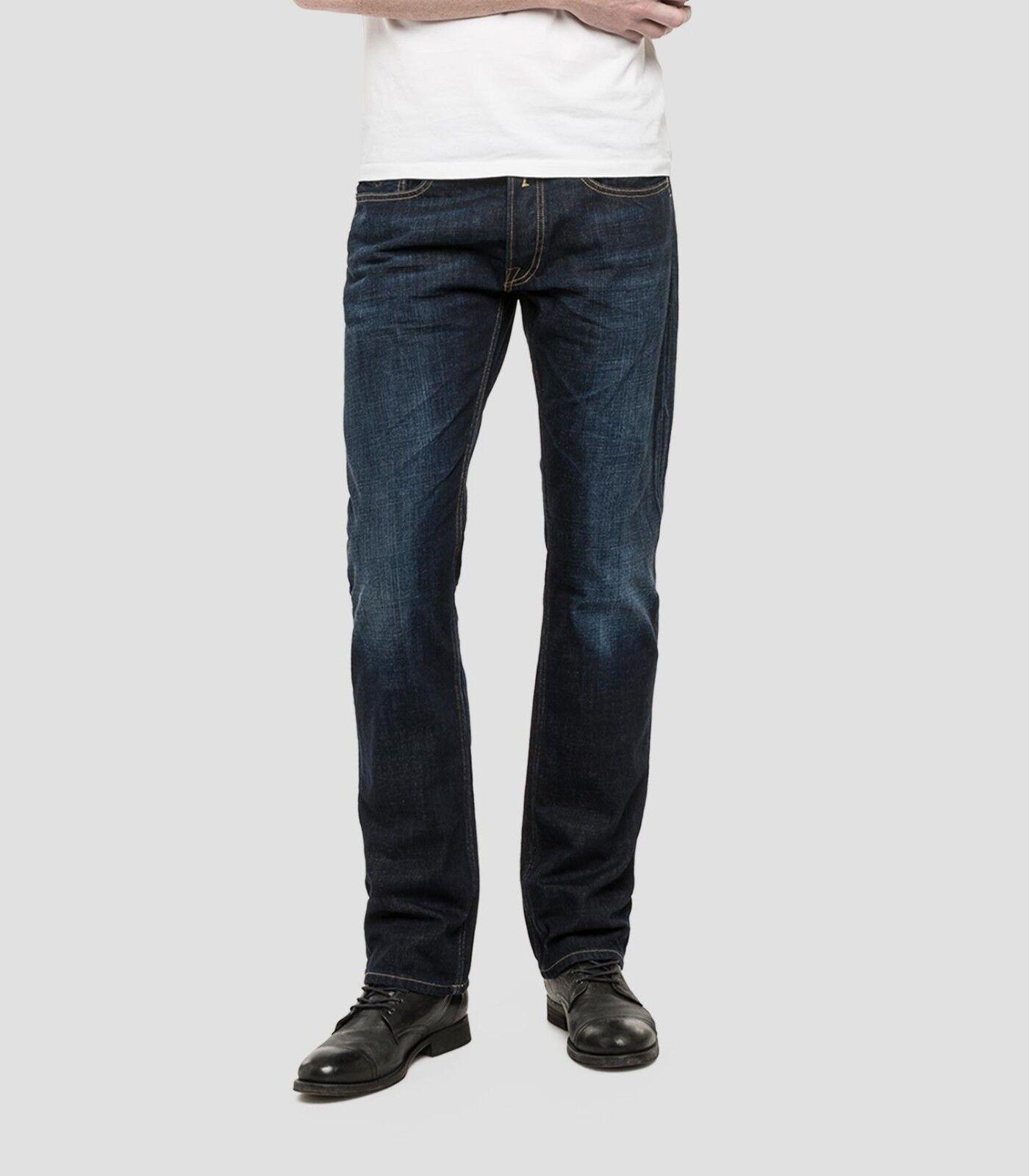 REPLAY NEWBILL Comfort Fit Fit Fit Jeans 32R TD091 BB 04 bd168e