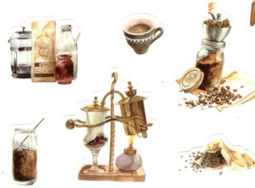 Coffee /& Coffee Maker Stickers