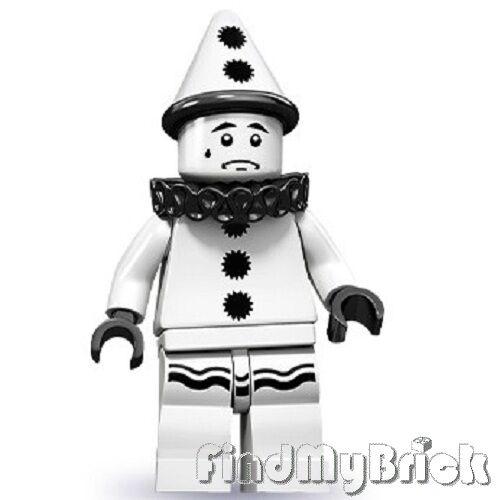 Lego 71001 Minifigure Series 10 Sad Clown NEW LOOSE not sealed