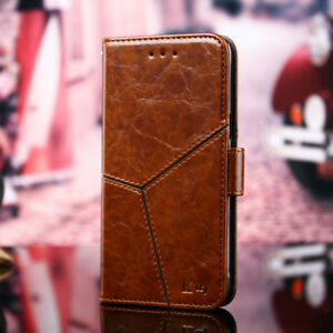 Hight Quality Flip Leather Stand Wallet Case With Card Slot For Samsung Galaxy