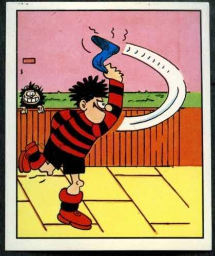 Dandy Beano #15 Panini 1988 Sticker C1490 Dennis The Menace