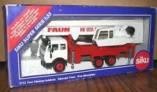 Faun HK 028.5 Tri-Axle Telescopic Crane Siku Construction Toy 1/55 DieCast Metal