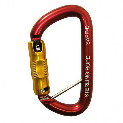 Sterling Rope Sticker Decal Climbing Gear Hiking Carabiner Ice Tool Cams