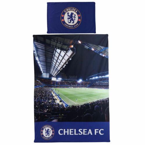 Chelsea Stadium Print Single Duvet Football Fanatics