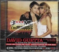 CD 16T DAVID GUETTA F*** ME I'M FAMOUS IBIZA MIX 06 NEUF SCELLE FRENCH STICKER