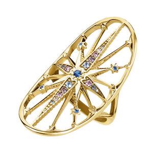 THOMAS-SABO-Schmuck-Damen-Ring-Royalty-Stern-blau-TR2223-959-7