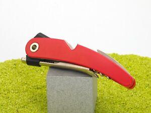VacuVin-Kellnermesser-Korkenzieher-Einhandkorkenzieher-Single-Pull-in-rot